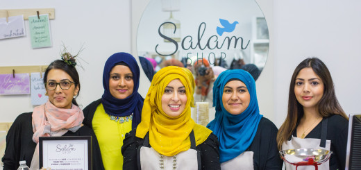 The Salam Shop crew!