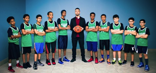 The London Islamic School basketball team