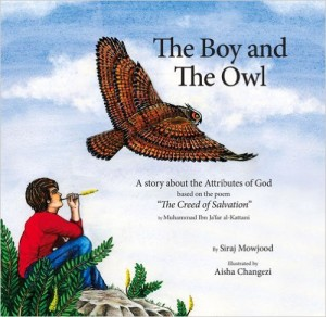 The Boy and The Owl, Illustrations by Aisha Changezi