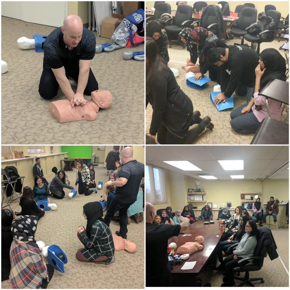 SMILE hosted two free CPR classes for volunteers and SMILE moms