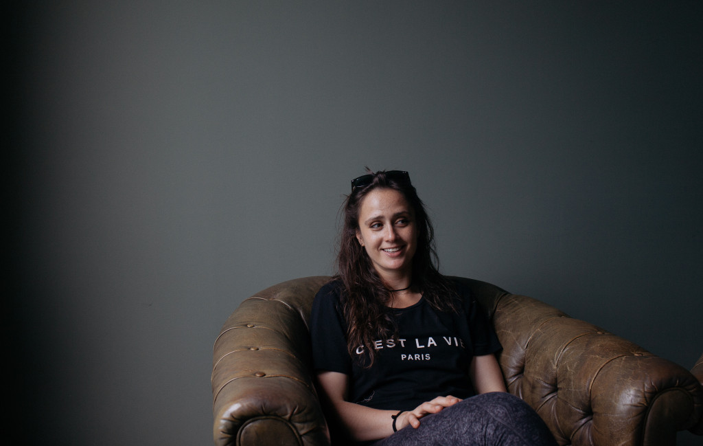 Lindsay Ogus-the brain behind the project.
