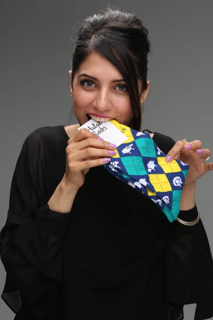 Sara-the co-founder of Halal Socks